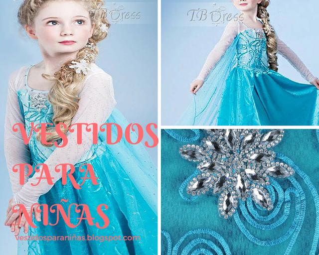 Frozen - vestidos para princesas