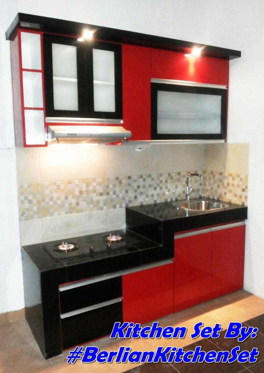 Berlian Kitchen Set Minimalis Murah Kitchen Set Model I