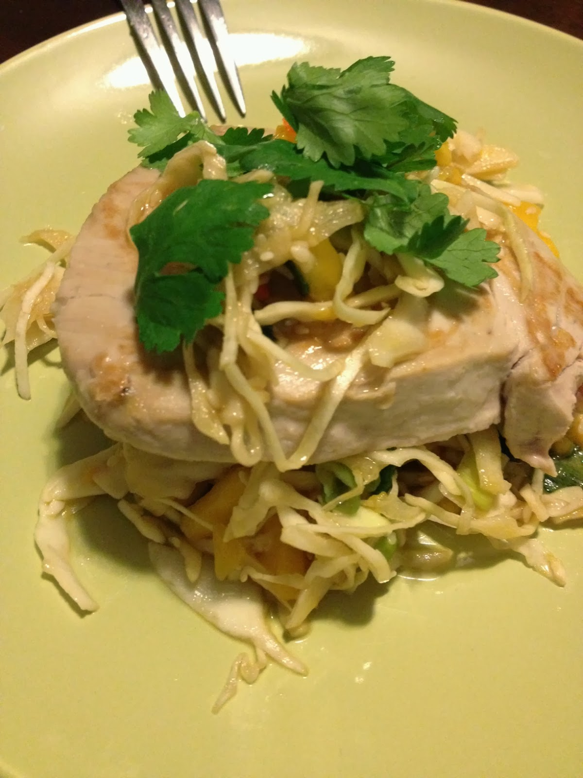 The Classy Cook: Asian Cabbage Mango Slaw