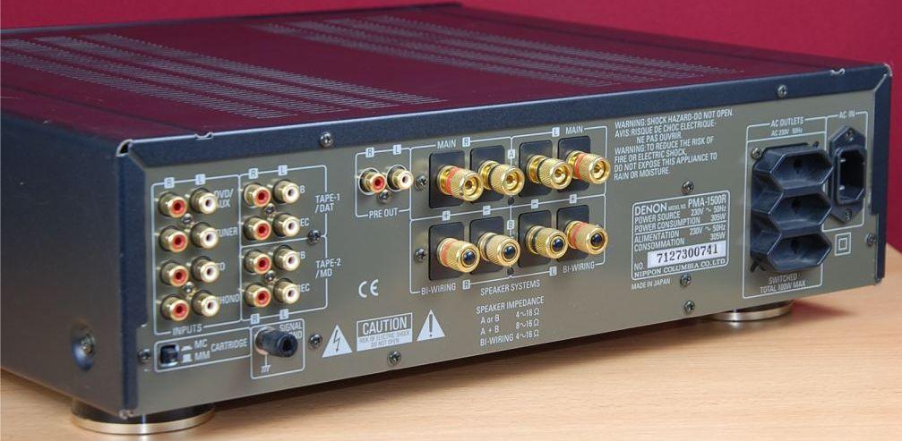 Denon Pma 1500r I Integrated Amplifier Audiobaza
