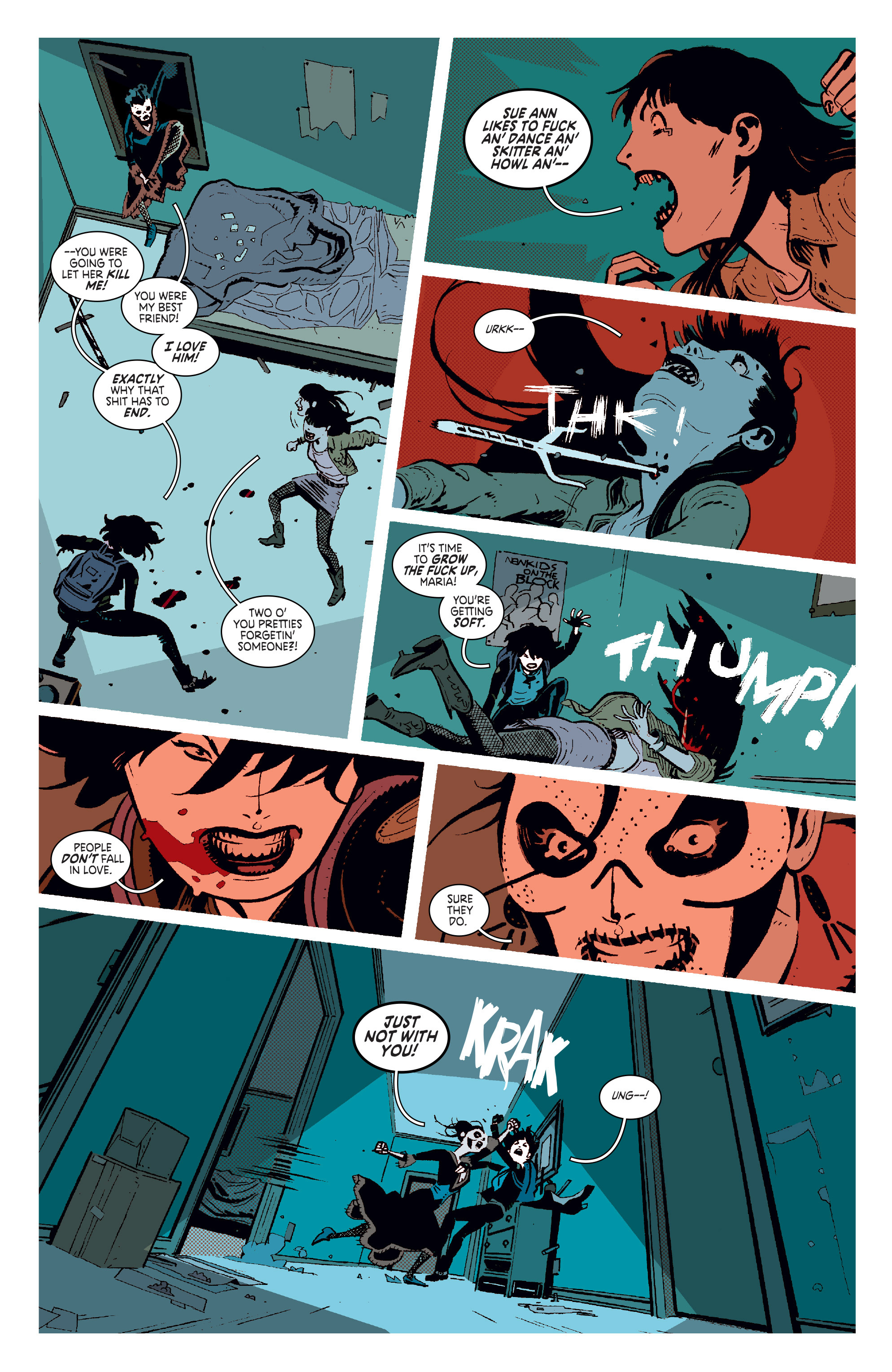 Read online Deadly Class comic -  Issue #11 - 7