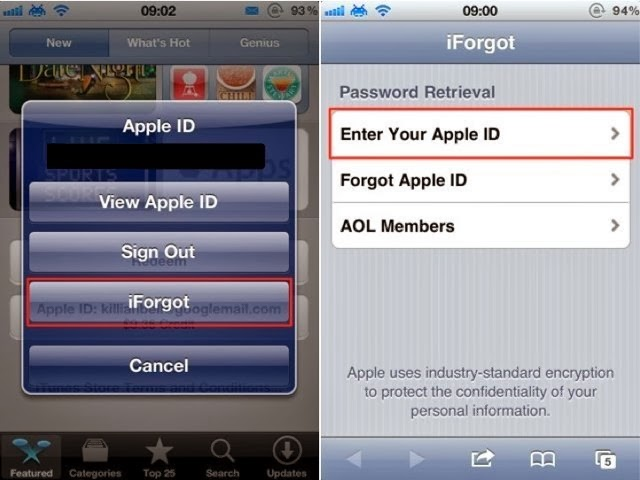 Forget Apple ID