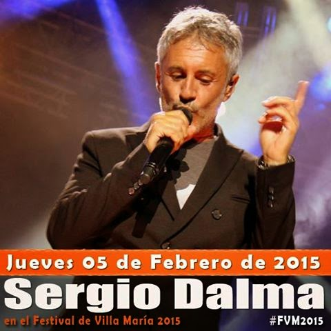 Sergio Dalma en Festival Villa María 2015