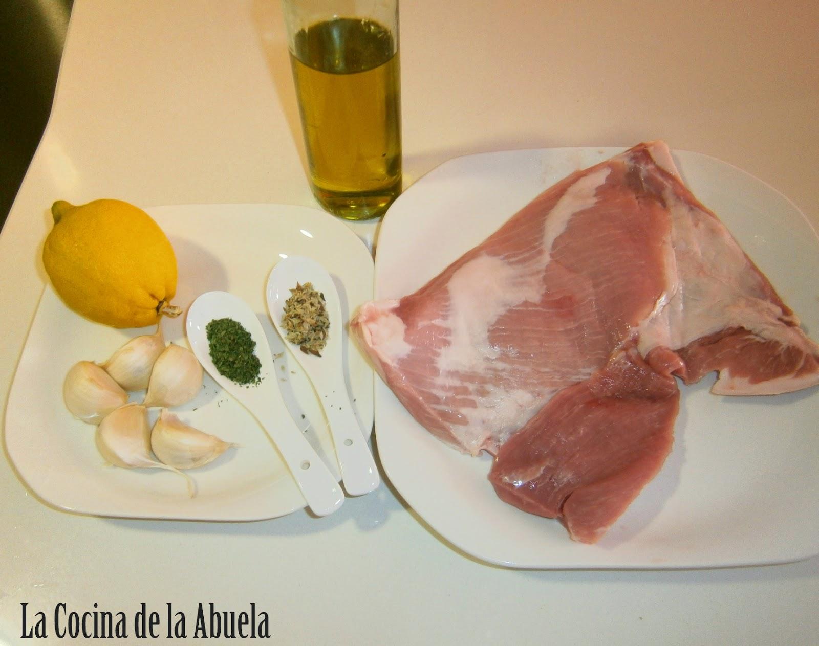 Secreto Iberico al Horno.