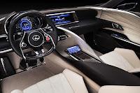 Lexus LF-LC Blue interior