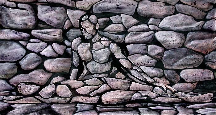 Craig Tracy | Optical Illusion Body painter