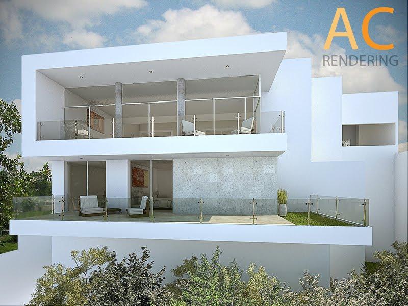 Renders monterrey 3d for Casa minimalista definicion