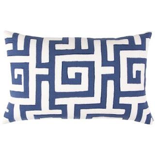 Greek Key Pillow