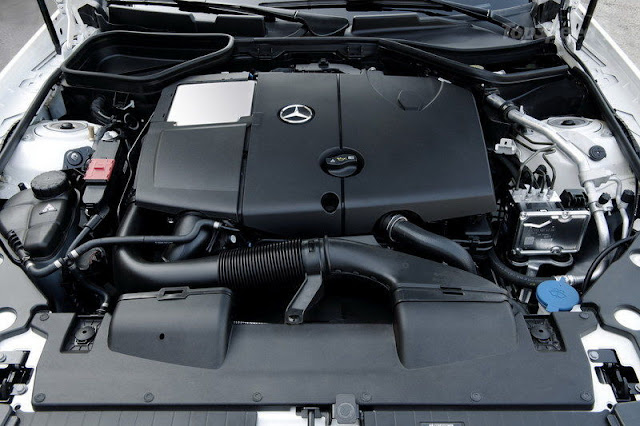 2012 Mercedes SLK 250 CDI Engine