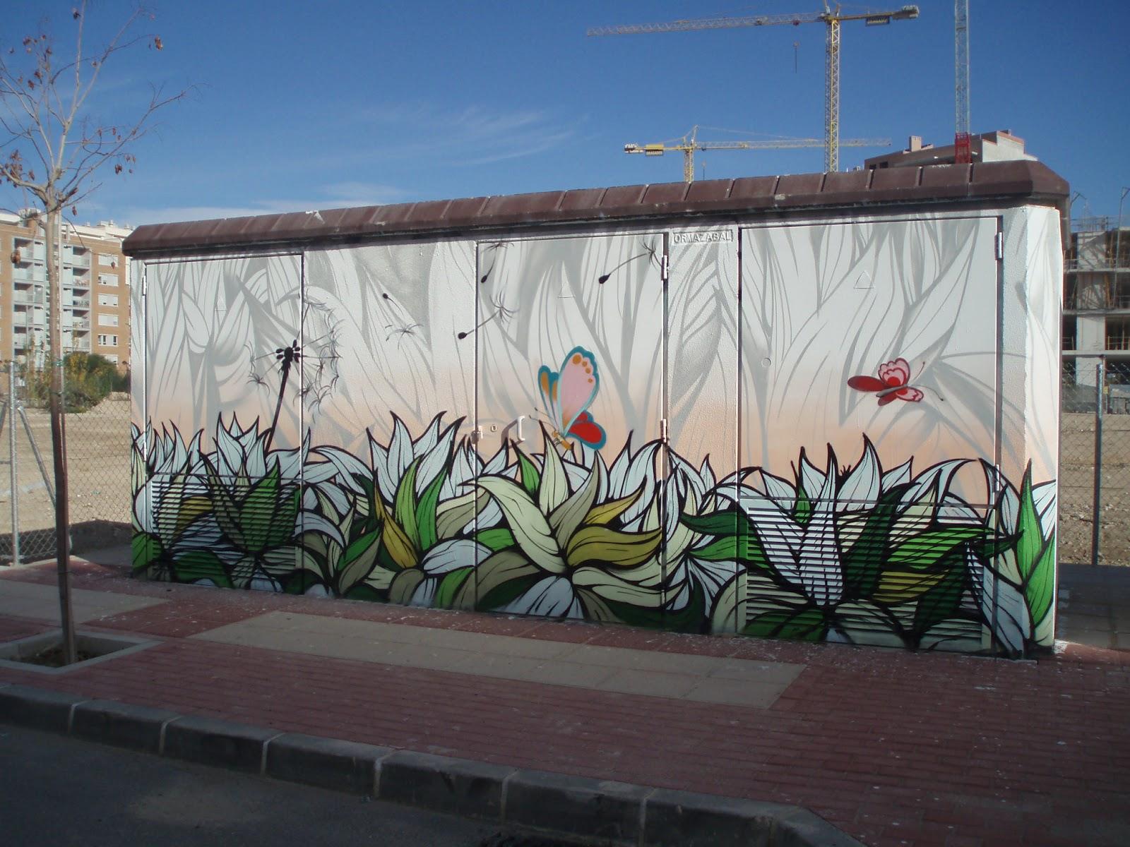 pinturas murales decoraci n graffiti en exteriores ii