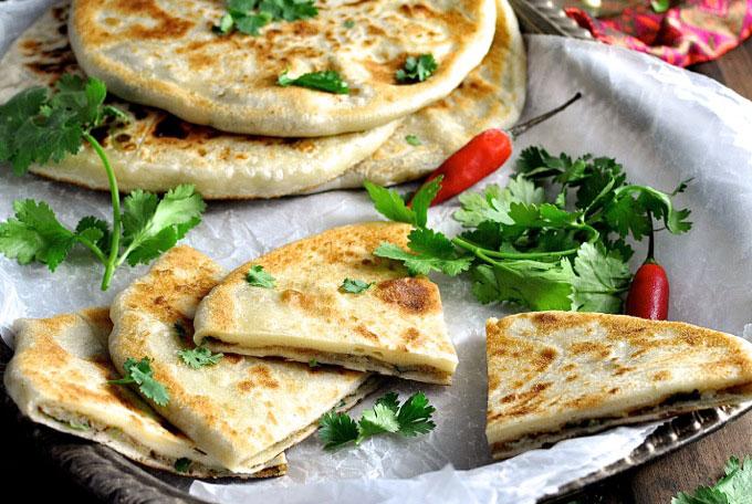 [Indian Recipes] Aloo Paratha - Potato Stuffed Flatbread ...