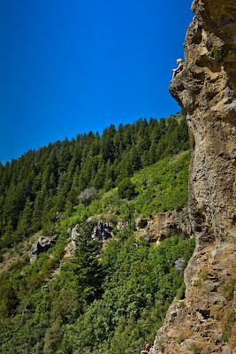 Wind Caves in Logan Canyon, Utah