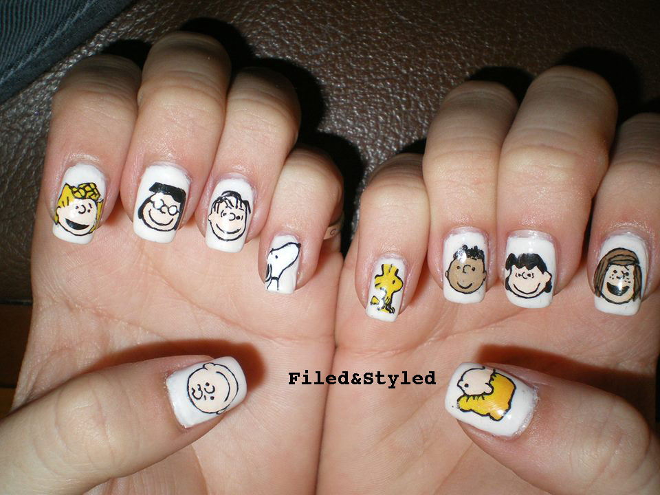 peanuts nails