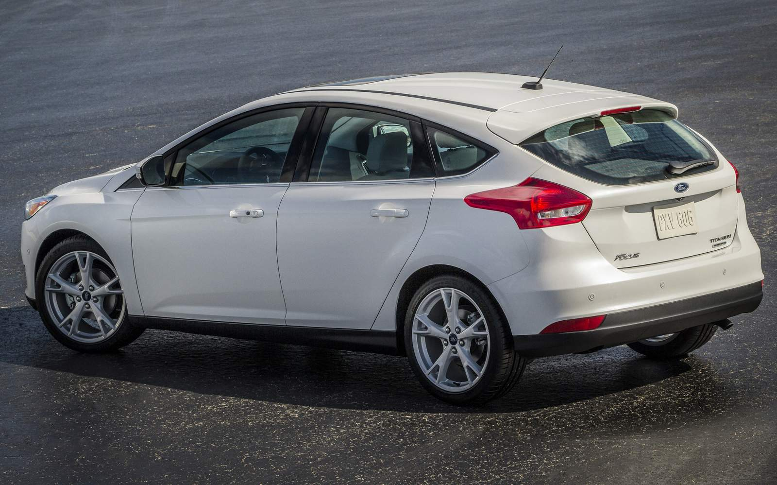 Novo Focus Hatch 2015 - traseira