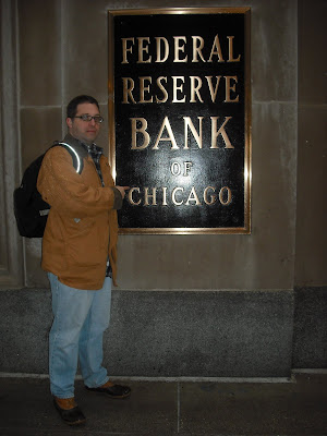 me in front of the Federal Reserve