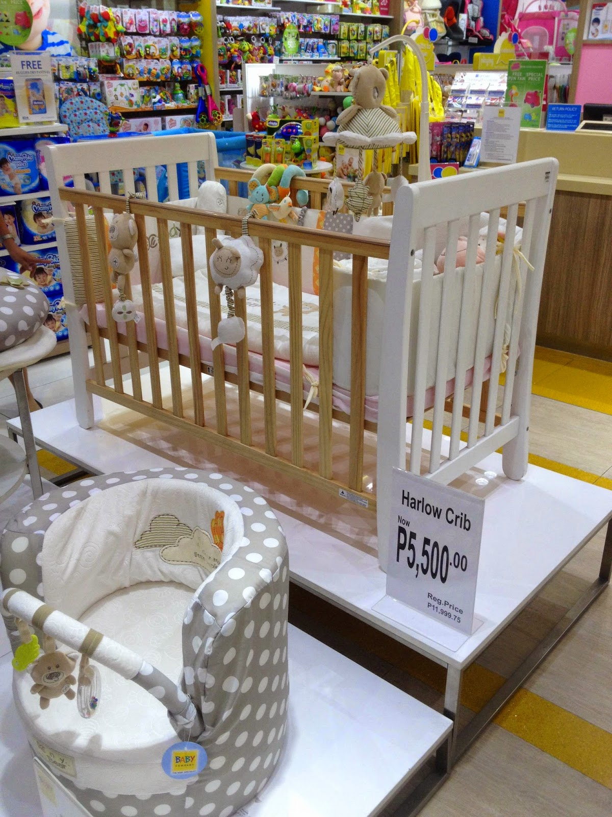 Crib for babies philippines - Harlow Crib 24x48