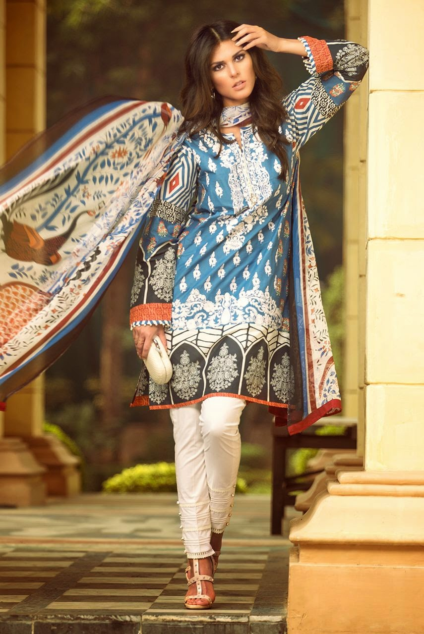 New Zara shahjahann lawn collection 2015