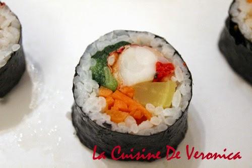 La Cuisine De Veronica 韓國紫菜飯卷 Gimbap