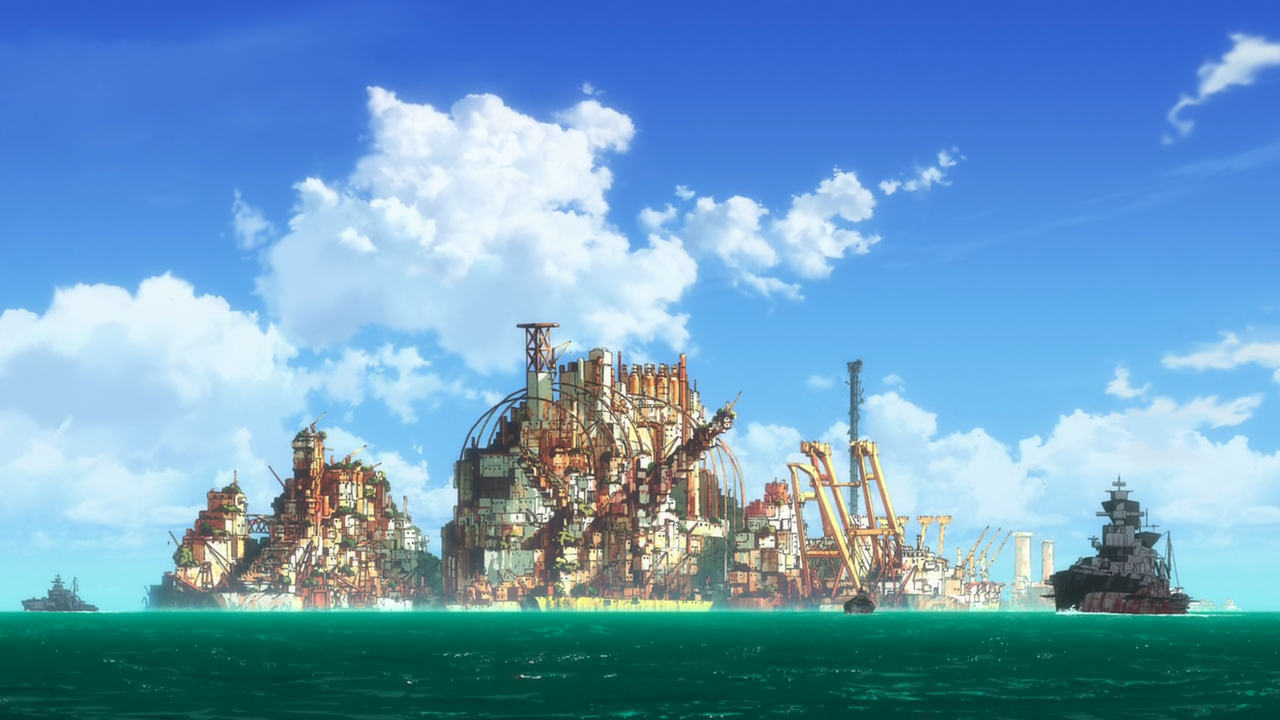 The Gargantia fleet