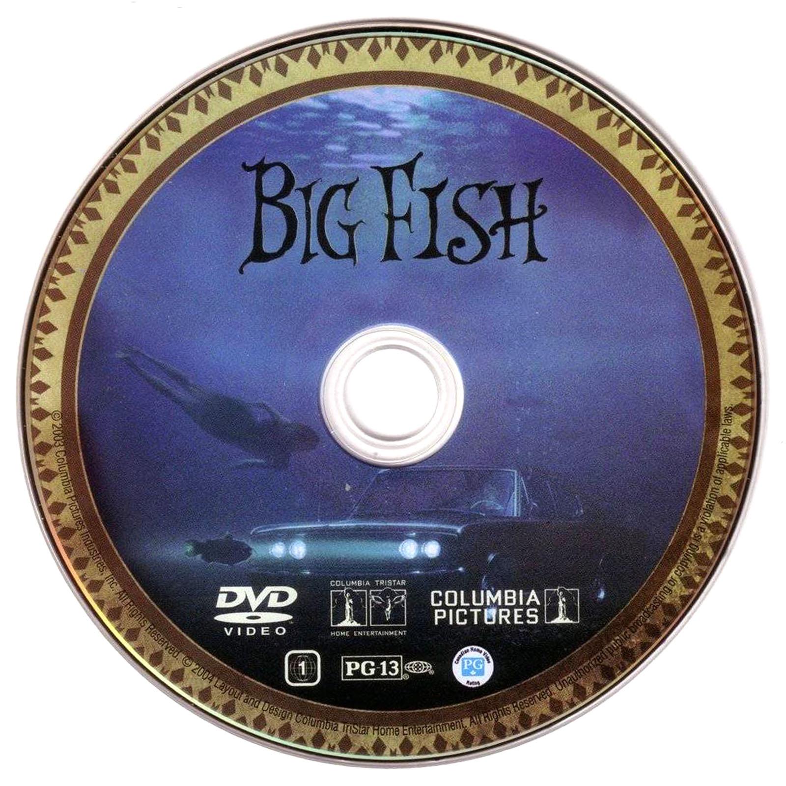 Big Fish Dvd Label Art
