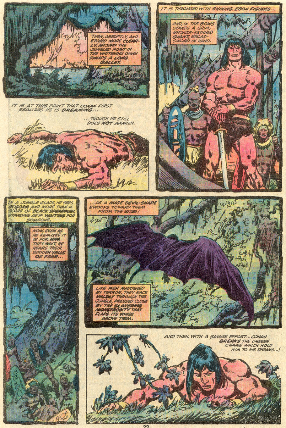 Conan the Barbarian (1970) Issue #100 #112 - English 17