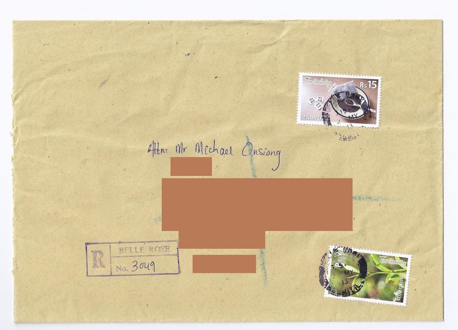 Mauritian Philatelic Blog Closing Of Belle Rose Post Office