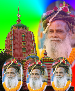 Baba with jagannath temple