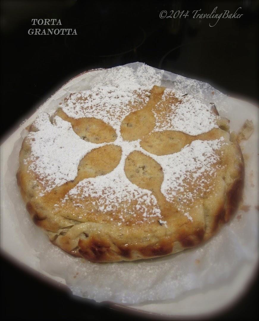 torta granotta (grano più ricotta) ;););) anche detta 'torta degli avanzi di pasqua'