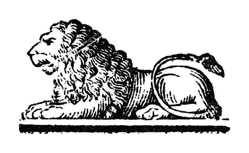 imagen de leon para imprimir