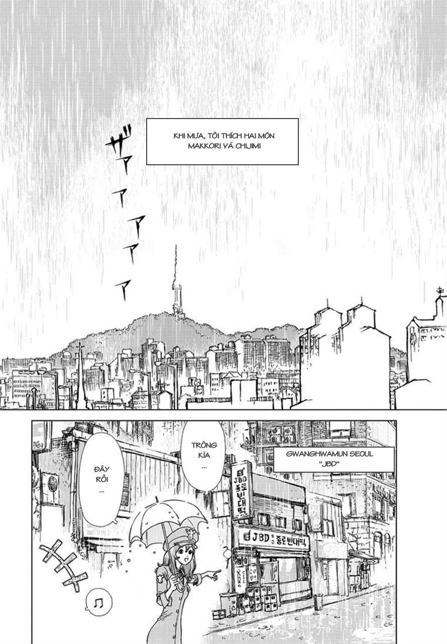 Yumin ni Gomeshi o Tabe Sasetai chap 1 - Trang 5