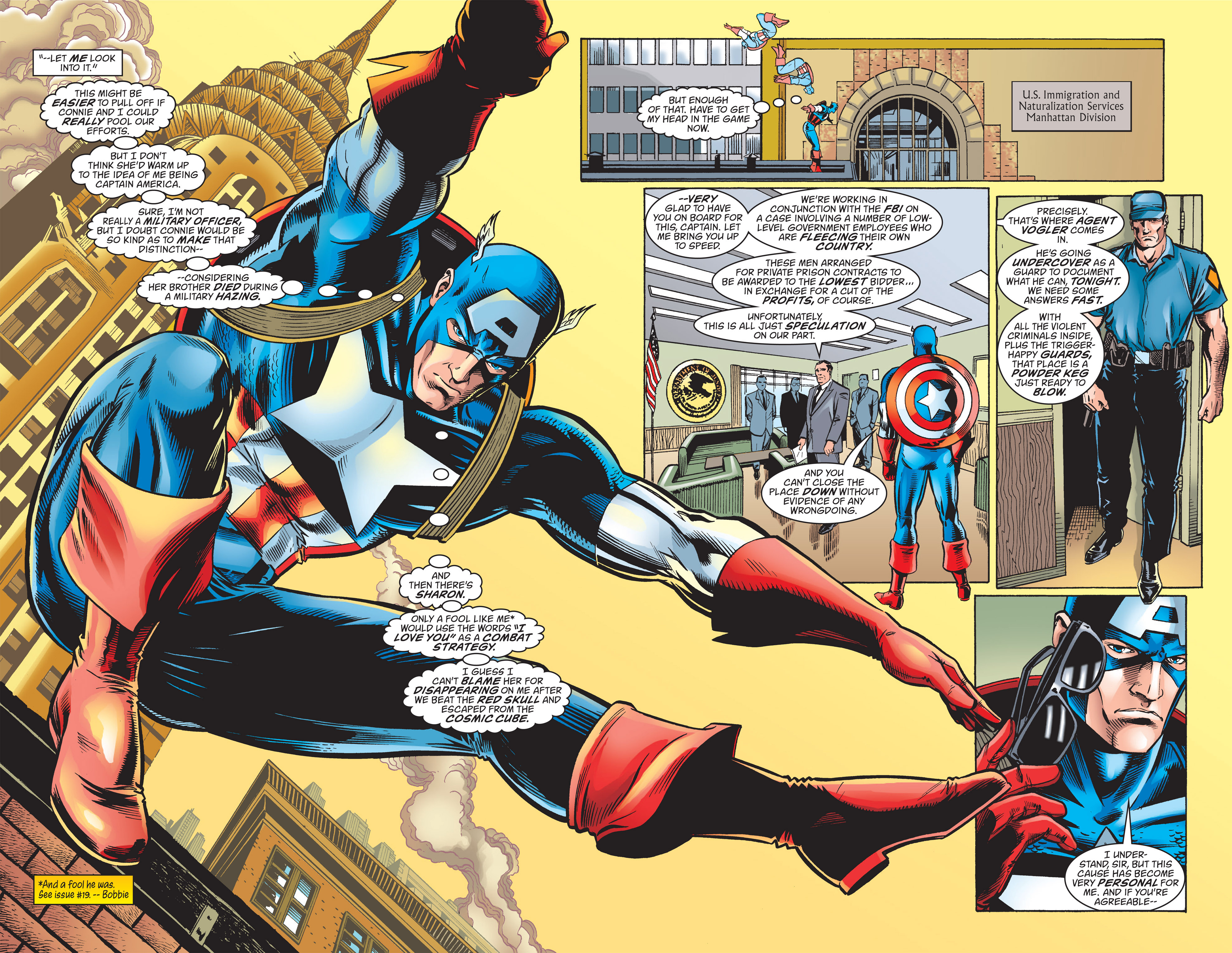Captain America (1998) Issue #23 #29 - English 6