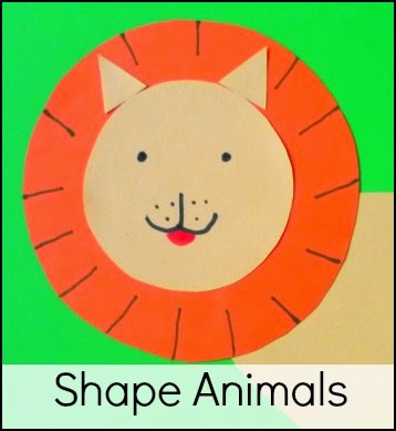 Shape animals craft