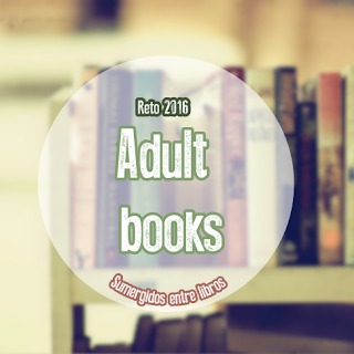 Reto 2016: Adult Books