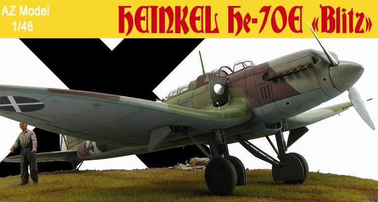 """Heinkel He-70E """"Blitz"""""""