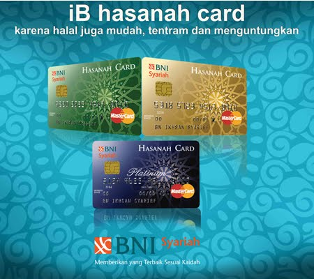 Hasanah Card Bni Syariah.