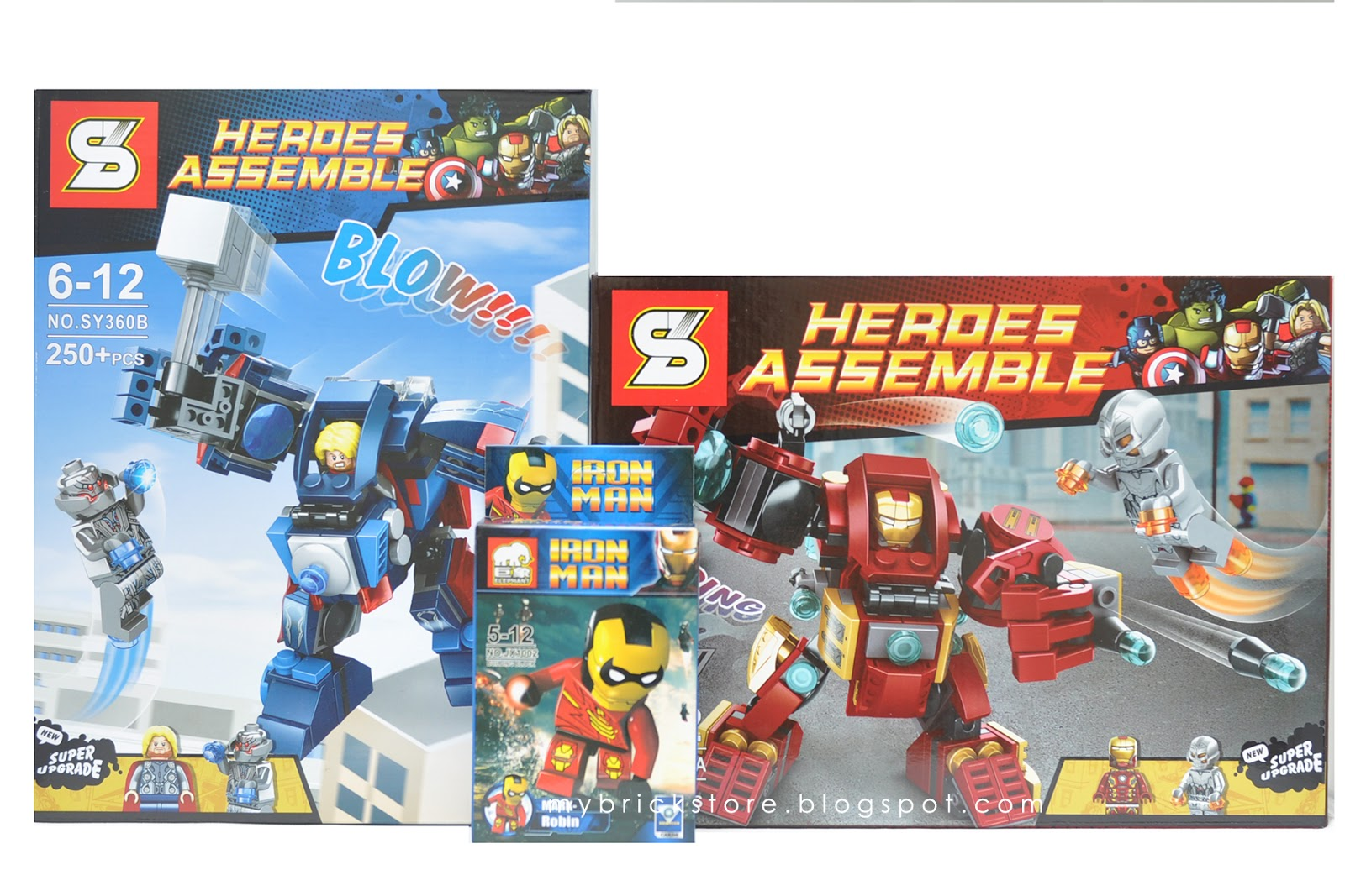 My Brick Store Sheng Yuan Sy360a Iron Man Mecha Hulkbuster