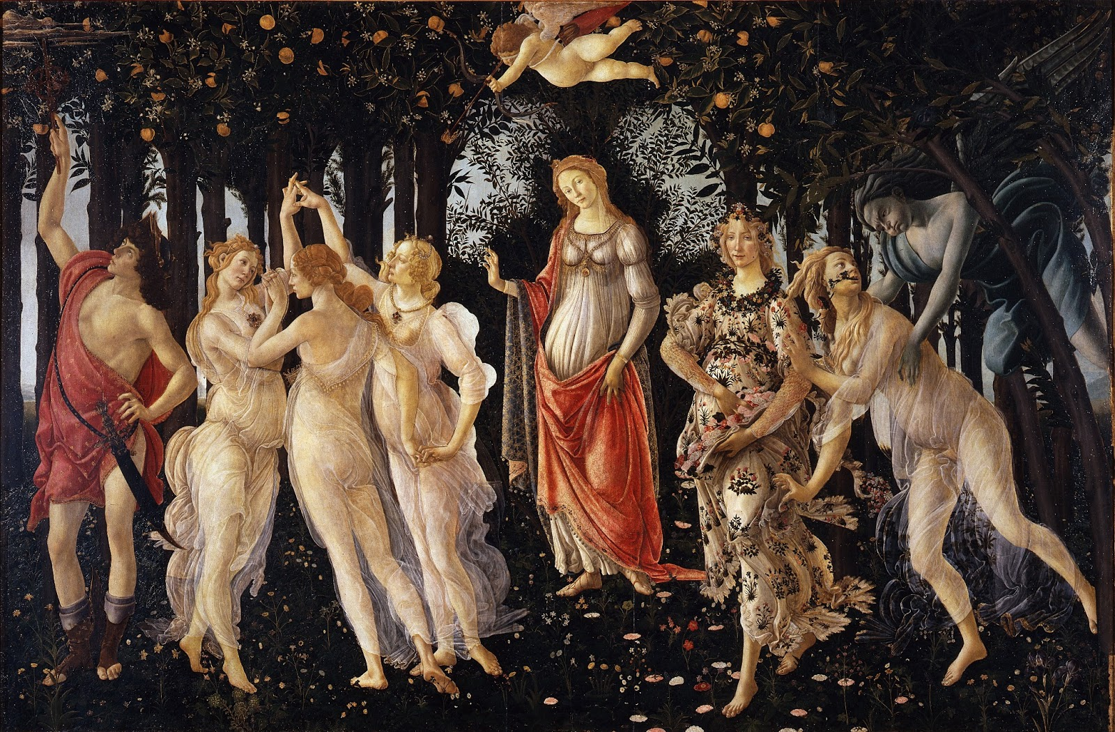 Bensozia The Strange Symbolism Of Botticellis Primavera