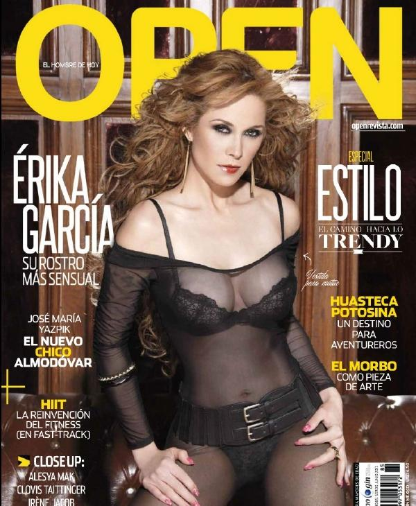 Fotos Érika García Revista OPEN Junio 2013