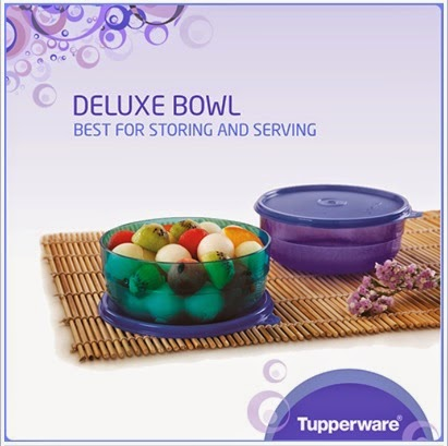 Tupperware Deluxe bowls