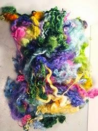Doll hair- mixed
