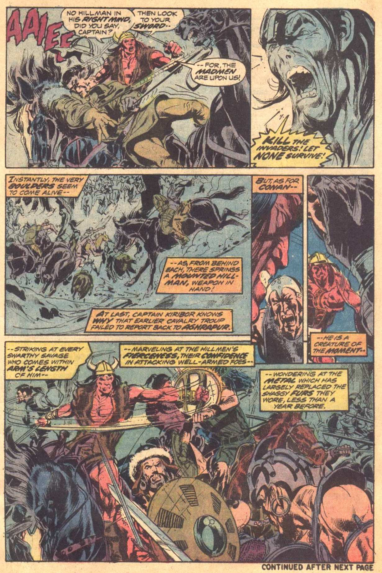 Conan the Barbarian (1970) Issue #37 #49 - English 6