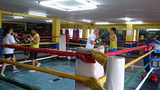 Elorde Boxing Gym inVito Cruz,  Manila