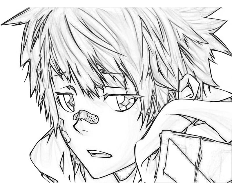 enma-kozato-face-coloring-pages
