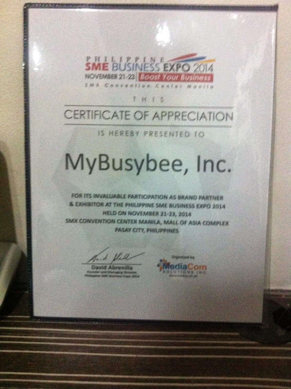 busybee meets SME Business Expo