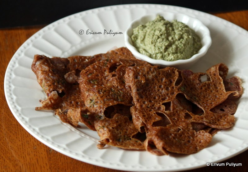 Instant Ragi(Finger Millet) Dosa | Quick Breakfast