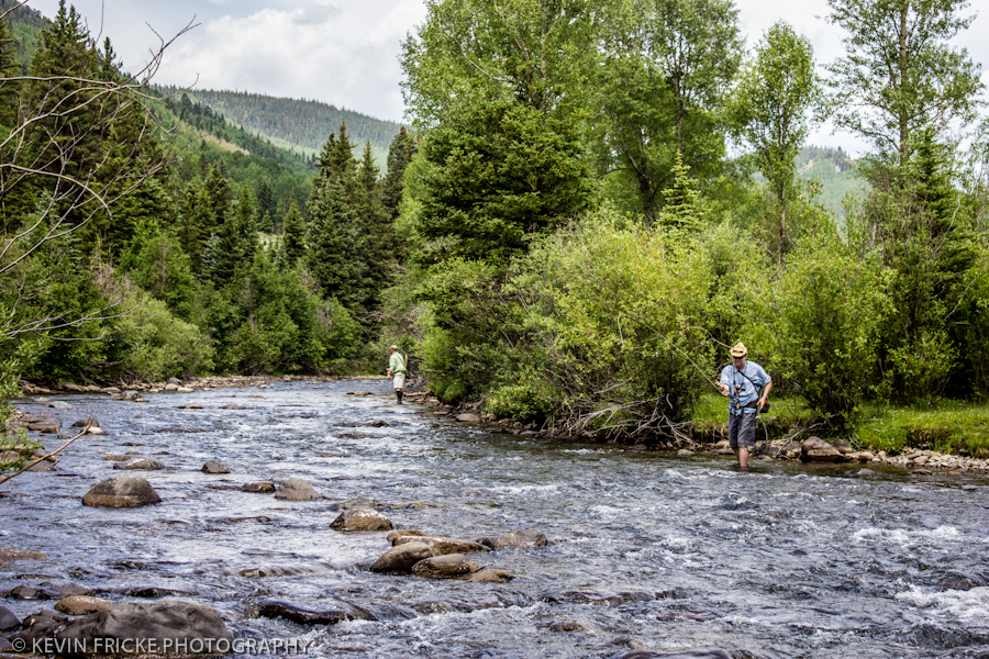 Middle and upper conejos river for Lake fork fishing hot spots