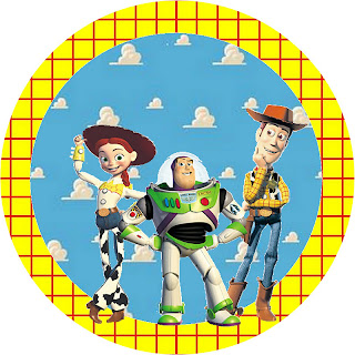 Toy Story Free Printable Toppers.