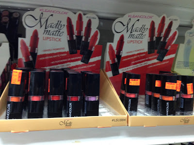 KleanColor Madly Matte Lipsticks display www.modenmakeup.com