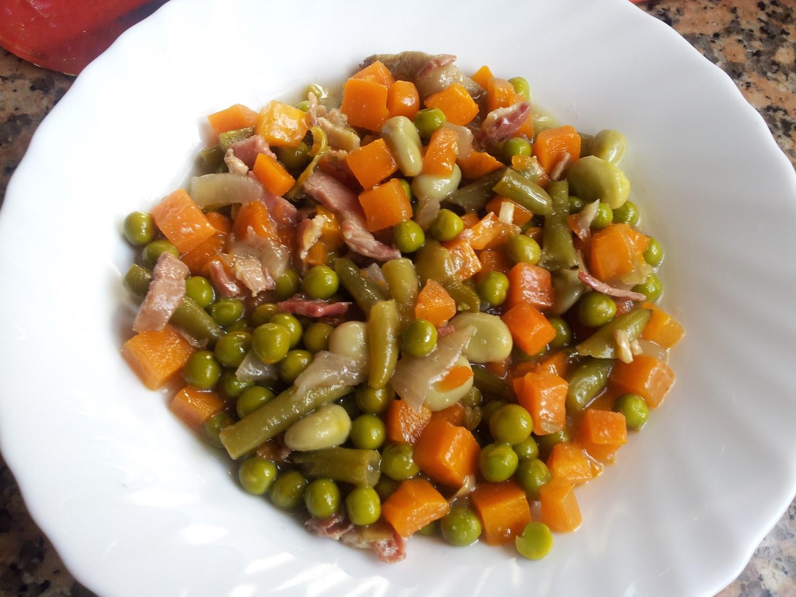 Rayo05 menestra de verduras con cerveza - Menestra de verduras en texturas ...