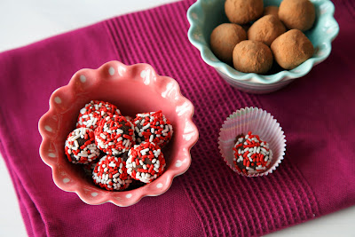 Chocolate Truffles, gluten-free, dairy-free, nut-free, vegan, easy to make and perfect to share!